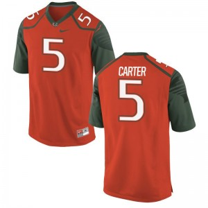 Amari Carter Men Jersey Mens XXL Miami Limited - Orange