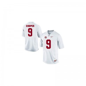 White Limited Amari Cooper Jersey Youth Large Kids University of Alabama