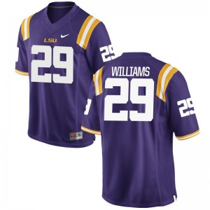 Andraez Williams LSU For Men Jersey Purple Limited Jersey