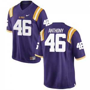 Andre Anthony Men Purple Jersey Limited Louisiana State Tigers