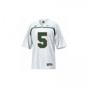 Andre Johnson Miami Limited For Kids Jerseys S-XL - White