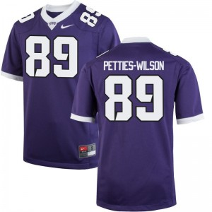 Andre Petties-Wilson TCU Jerseys Purple Limited Men