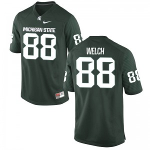 Andre Welch Mens Jersey Limited Michigan State University Green