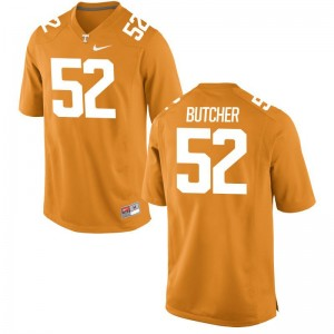 Limited Youth Tennessee Volunteers Jerseys XL of Andrew Butcher - Orange