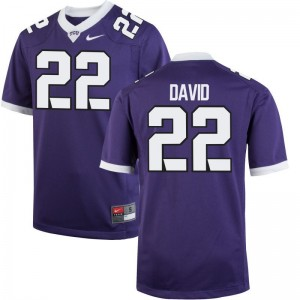 Texas Christian University Jersey Men Small Andrew David Men Limited - Purple