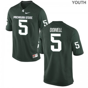 Michigan State Andrew Dowell Limited Youth(Kids) High School Jersey - Green