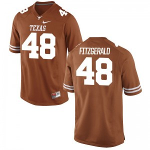 Andrew Fitzgerald Mens Jerseys Texas Longhorns Limited - Orange