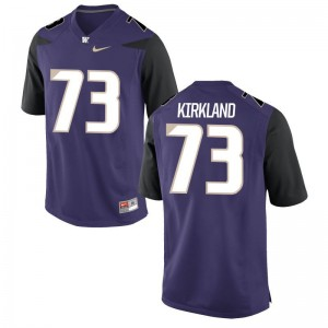 Andrew Kirkland For Men Jerseys Limited Washington Huskies - Purple