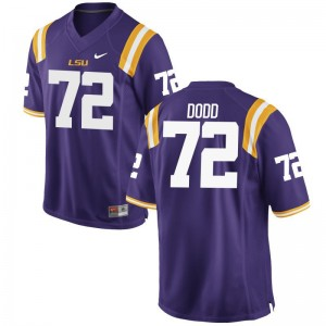 LSU Tigers Andy Dodd Jerseys Limited For Men Purple