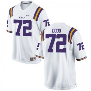 Andy Dodd Tigers Jerseys Youth Small Kids White Limited