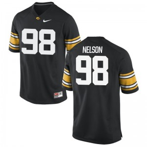 Men Limited Iowa Jersey Mens XXXL Anthony Nelson - Black