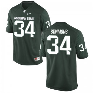 Antjuan Simmons Michigan State University Mens Jersey Green Alumni Limited Jersey