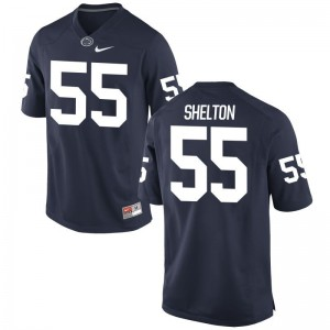 Mens Limited Official Penn State Jerseys Antonio Shelton Navy Jerseys