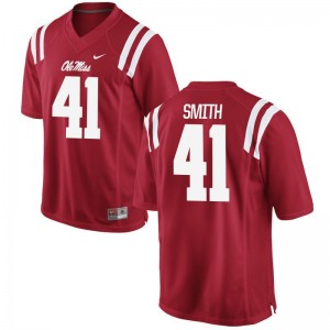 Ole Miss Antwain Smith Jersey XXL Red Limited For Men