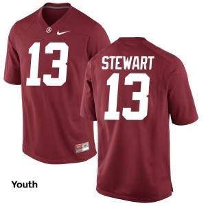 Limited Bama ArDarius Stewart For Kids Jerseys X Large - Red