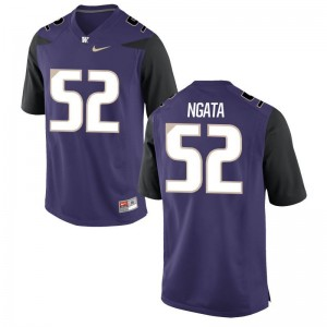 Limited Purple Ariel Ngata Jersey Men XL Mens Washington