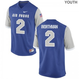 Air Force Jersey X Large Arion Worthman Limited For Kids - Royal