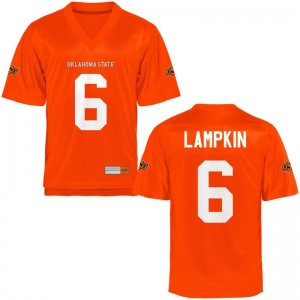 Ashton Lampkin Men Jerseys XX Large Limited OSU - Orange