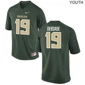 University of Miami Augie DeBiase Limited Kids Jerseys - Green