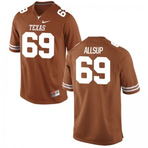 University of Texas For Men Limited Orange Austin Allsup Jerseys