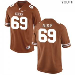 UT Austin Allsup Limited Youth(Kids) Jerseys - Orange