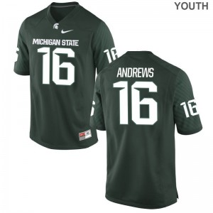 Spartans Jerseys S-XL Austin Andrews Youth Limited - Green