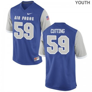 Youth Austin Cutting Jersey Youth X Large Air Force Falcons Limited Royal