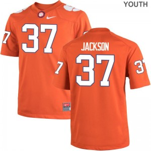 Clemson University Limited Orange Youth Austin Jackson Jerseys Youth X Large