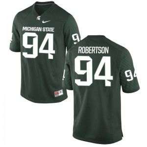 MSU Auston Robertson Jersey Limited For Men Green