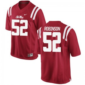 Austrian Robinson Limited Jerseys Mens Ole Miss Rebels Red Jerseys