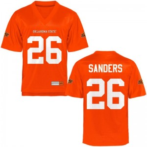 Oklahoma State Limited Barry Sanders For Men Jersey Men Small - Orange