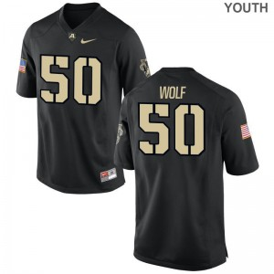 Bayle Wolf United States Military Academy Jersey Youth Large Limited Youth Jersey Youth Large - Black