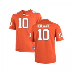 Ben Boulware Clemson University Limited Mens Jersey - Orange
