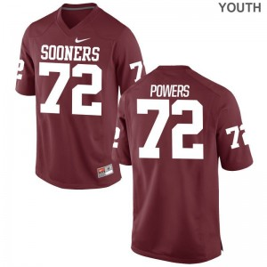 Ben Powers OU Jersey Medium Limited For Kids - Crimson