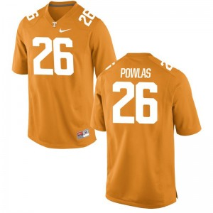 Tennessee Ben Powlas Limited Youth Jersey - Orange