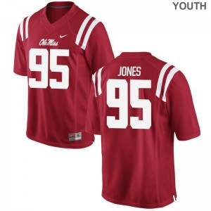 Benito Jones Ole Miss Jersey XL Limited Youth(Kids) - Red