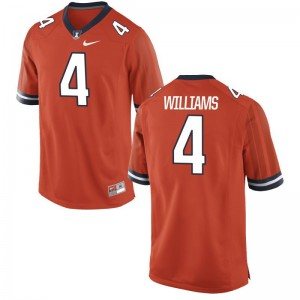 Fighting Illini Bennett Williams For Men Limited Jerseys Orange