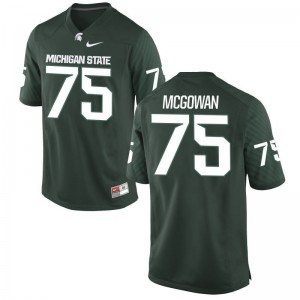 Michigan State University Limited Benny McGowan For Kids Green Jersey Youth Medium