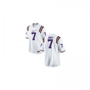 Bert Jones Youth(Kids) Jerseys Youth X Large Tigers Limited - White