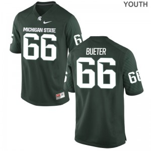 Blake Bueter Youth(Kids) Green Jersey Medium Limited Michigan State Spartans