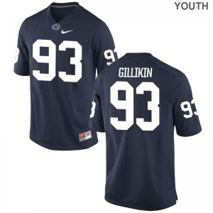 Youth XL Penn State Blake Gillikin Jersey Youth(Kids) Limited Navy Jersey