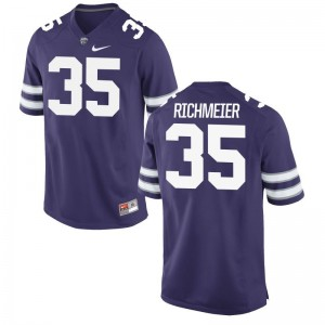 Blake Richmeier Limited Jersey Mens Official K-State Purple Jersey