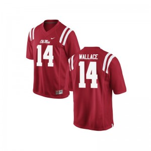 Bo Wallace Ole Miss Rebels Jersey S-XL Limited Youth(Kids) - Red