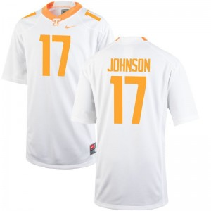 Tennessee Brandon Johnson Limited Jersey White Youth(Kids)