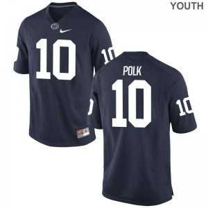 Navy Brandon Polk Jersey Youth X Large Nittany Lions For Kids Limited