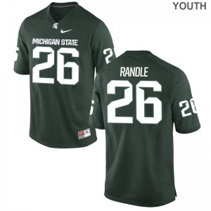 Kids Brandon Randle Jerseys XL Michigan State Spartans Limited Green