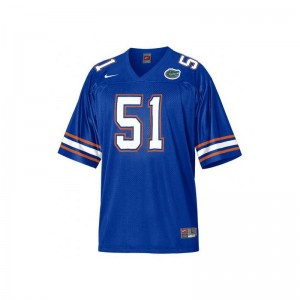Florida Gators Brandon Spikes Jerseys Large Blue Youth Limited