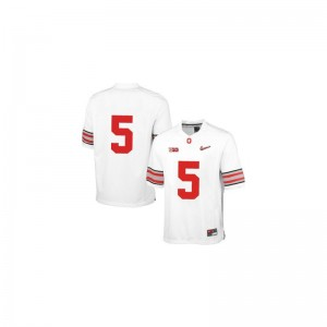 Ohio State Buckeyes Braxton Miller Jersey Large For Men Limited - White Diamond Quest Patch