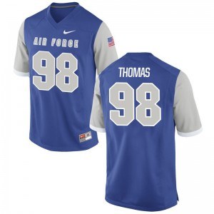 Air Force Academy Brayden Thomas Mens Limited Embroidery Jersey Royal