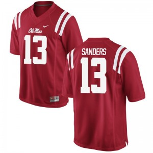 Ole Miss Rebels Braylon Sanders Limited Jerseys Red For Men